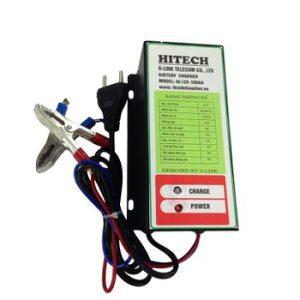 Máy nạp ắc quy tự động HITECH 10A / 12V-100AH