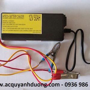 Máy nạp ắc quy tự động HITECH 5A / 12V-50AH