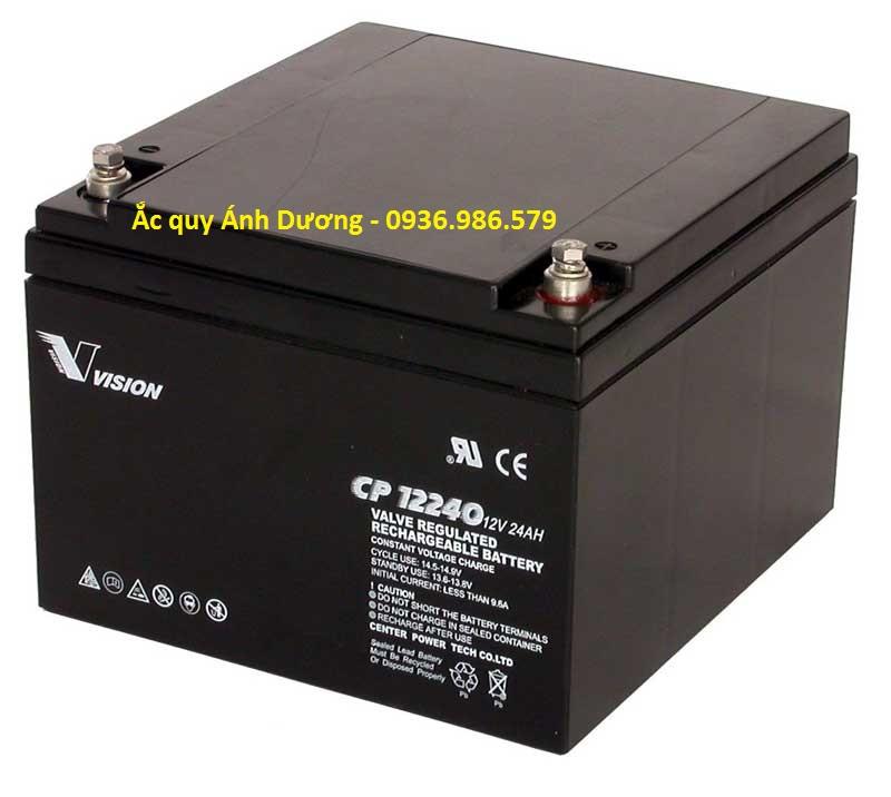 ac quy vision 12V-24Ah-CP12240E-X
