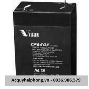 Ắc quy Vison 6V 4AH ( CP640E)