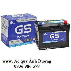 Ắc quy GS MF 85D26L-75AH