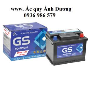 Ắc quy GS MF DIN 60 - 60AH