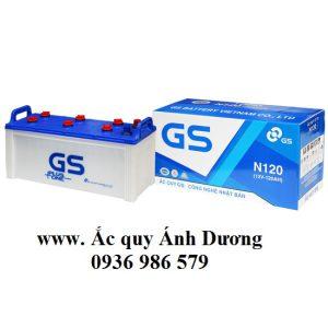 Ắc quy GS N120-120AH