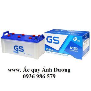 Ắc quy GS N150-150AH