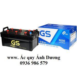 Ắc quy GS N200-200AH