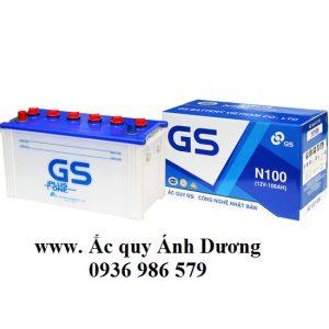Ắc quy GS N100-100AH