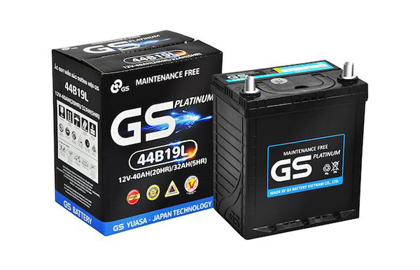 Ắc quy GS sự lựa chọn cho xe xúc