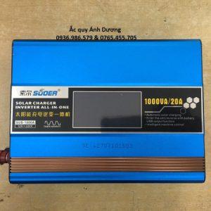 Máy kích điện sạc pin năng lượng mặt trời 1000Va Suoer SUS-1000A