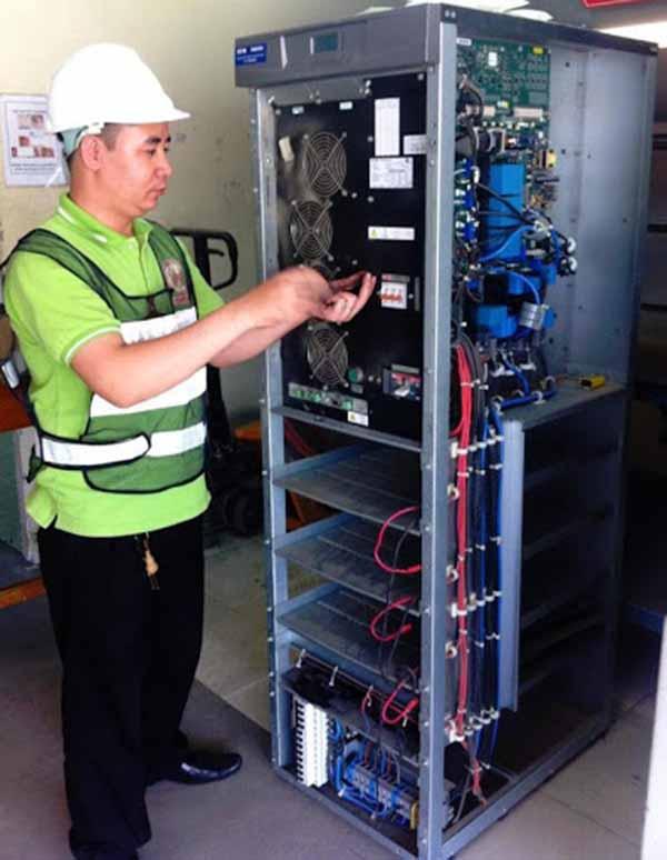 Bảo dưỡng ắc quy ups tại Hải Phòng