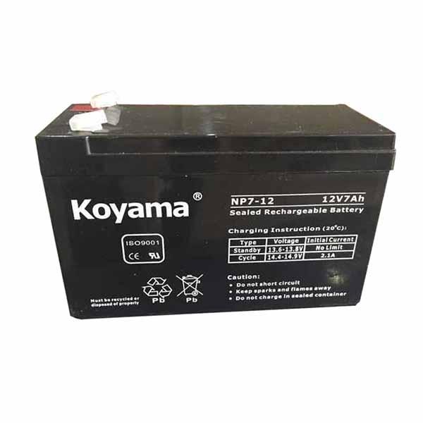 Ắc quy Koyama chính hãng Hải Phòng