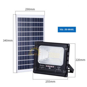 Đèn năng lượng mặt trời Jindian 40W JD-8840L