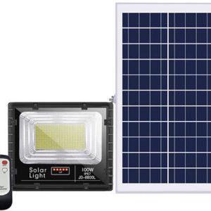 Đèn năng lượng mặt trời Jindian 100W JD-8800L