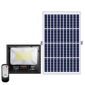 Đèn năng lượng mặt trời Jindian 300W JD-8300L