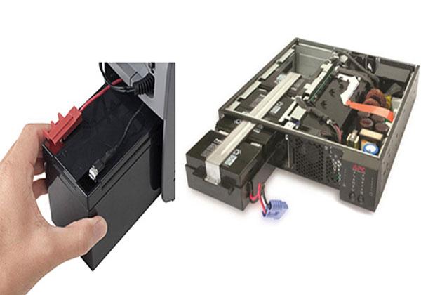 Cách thay ắc quy cho bình lưu điện cửa cuốn