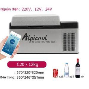 Tủ lạnh Alpicool C20 - 20 lít 1 ngăn lạnh